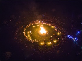 Light Your Beailtaine Sacred Flame Tuesday 5th May